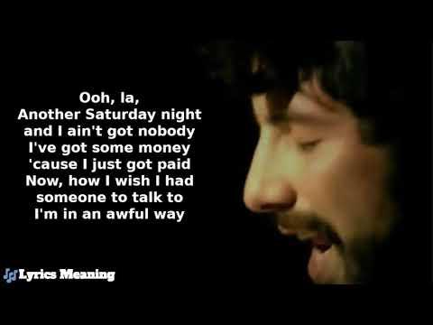 Cat Stevens - Another Saturday Night | Lyrics Meaning