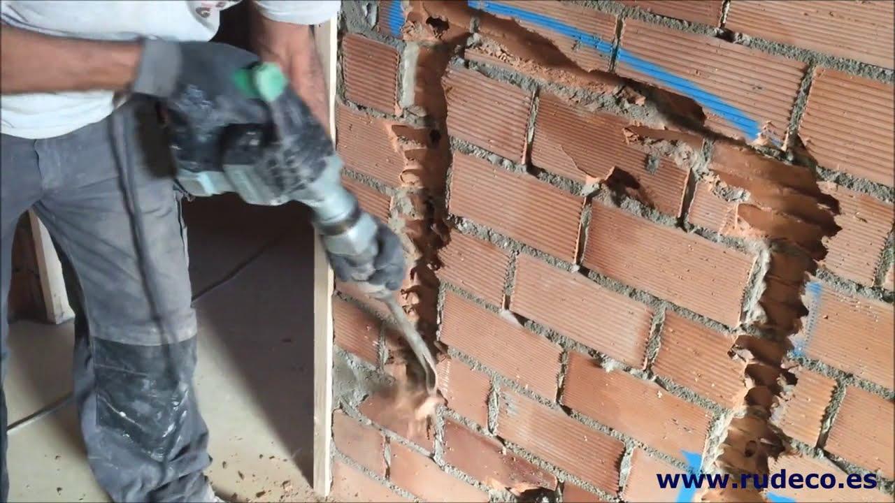 Apertura de regolas para instalaciones youtube for Instalacion electrica de una vivienda paso a paso
