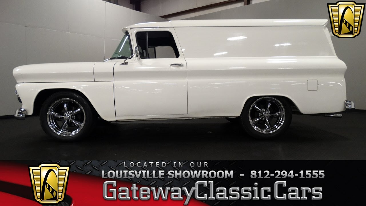 05ad2dbfd8 1963 Chevrolet Panel Truck - Louisville Showroom - Stock  1115 - YouTube