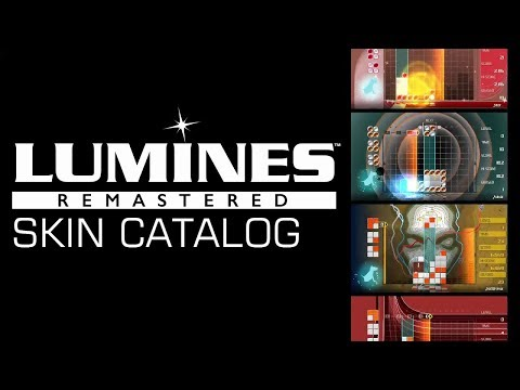 LUMINES Remastered Skin Catalog (スキン一覧)