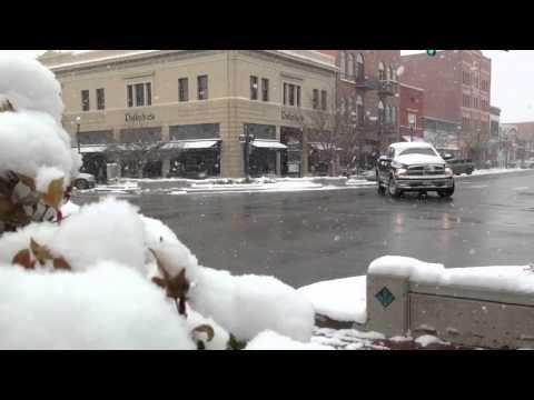 A wintry November day in Colorado Springs