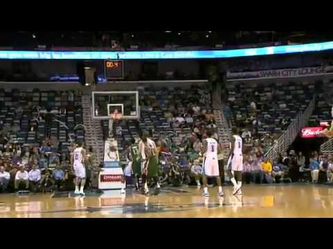 NBA December 3 2012: New Orleans Hornets vs Milwaukee Bucks Highlights