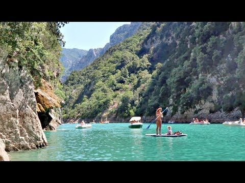 THE MOST BEAUTIFUL PLACE IN THE WORLD. GORGES DU VERDON, FRANCE