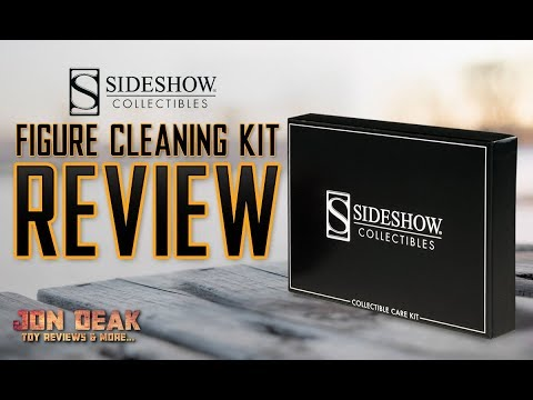 SIDESHOW - FIGURE CLEANING KIT ( REVIEW )