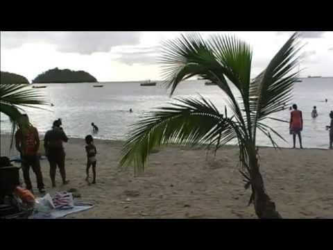 Plage de l'anse à l'ane Trois Ilets Martinique