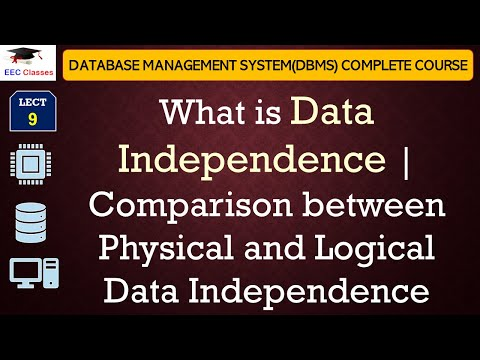Data Independence Comparison Between Physical And