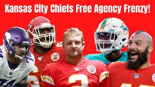 Kansas City Chiefs 2020 Free Agency Frenzy! Mike Pennel, Taco Charlton, Dustin Colquitt & More!!