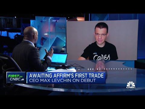 Affirm CEO Max Levchin on the company's public debut