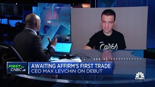 <b>Affirm</b> CEO Max Levchin on the company's public debut