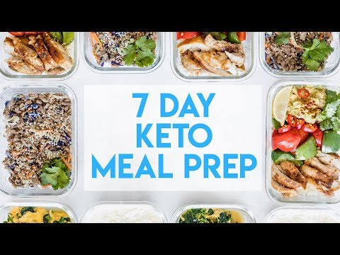 7 Day Keto Meal Prep Simple Healthy Meal Plan Youtube