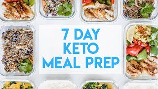 7 Day KETO Meal Prep - Simple Healthy Meal Plan