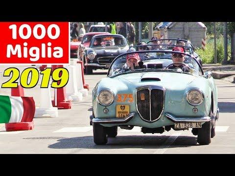 1000 Miglia 2019 Highlights - Day 2, Gambettola (FC) - Alfa 6C 1750 Zagato, Mercedes 300 SL & More!