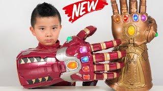 NEW Iron Man NANO Gauntlet Marvel Legends Series CKN Toys