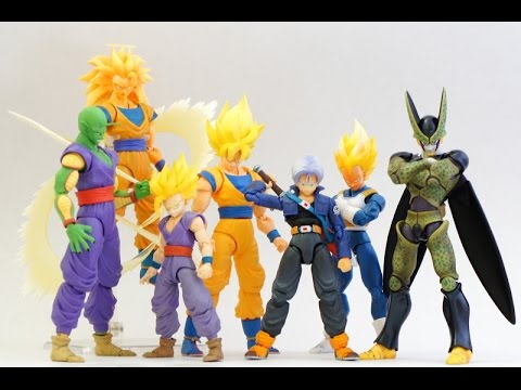 Dragon Ball Z S.H. FIGUARTS  Are NOW At TOYS R US!!