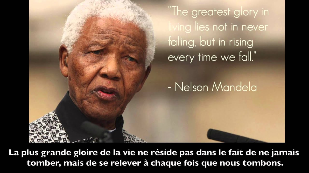 Citations Les Plus Célébres De Nelson Mandela Leçon De Vie