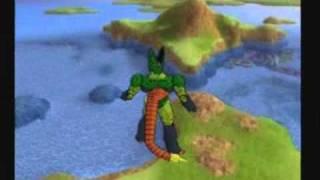 Video Story Mode Tenkaichi 3 - Cell 2a forma vs C-18 & Trunks Super Saiyan