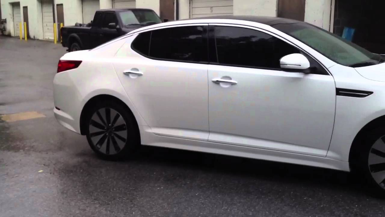 kia optima 20 percent window tint youtube