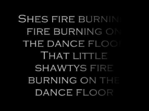 Sean Kingston Fire Burning Lyrics Youtube