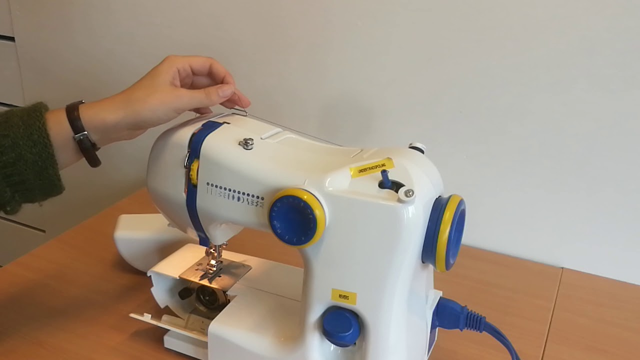 1/4 Ikea symaskin - hvordan spole opp ny undertråd