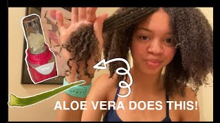 3 WAYS TO USE ALOE VERA FOR EXTREME HAIR GROWTH| Pre-wash day routine pt.1