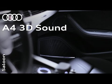 Bang & Olufsen Advanced 3D Sound System in the all-new Audi A4