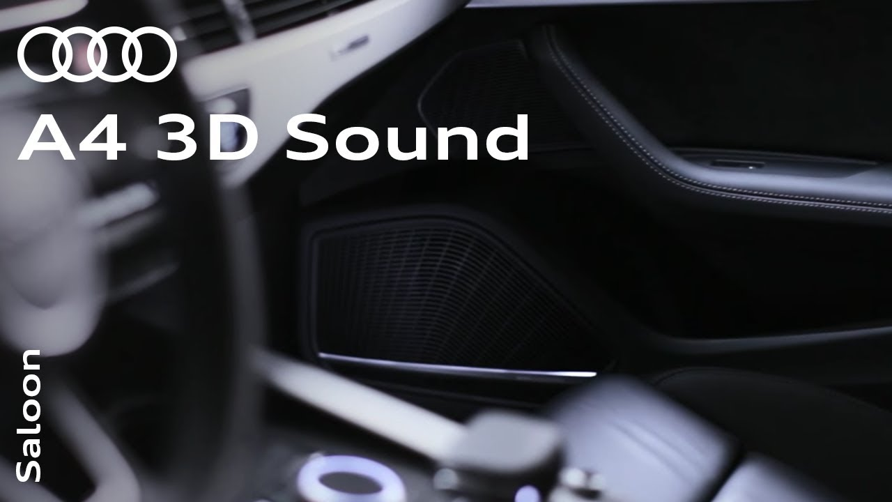 Bang Olufsen Advanced 3d Sound System In The Audi A4 Youtube