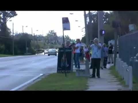 Pro-Life Eucharistic procession in Jacksonville, FL