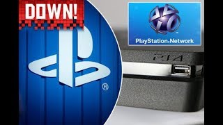 Playstation Network Down AGAIN! 2nd Time In 2 Months! Sorry For The Inconvenience Pilots!