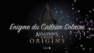 Assassin's Creed® Origins - Enigme du Cadran Solaire
