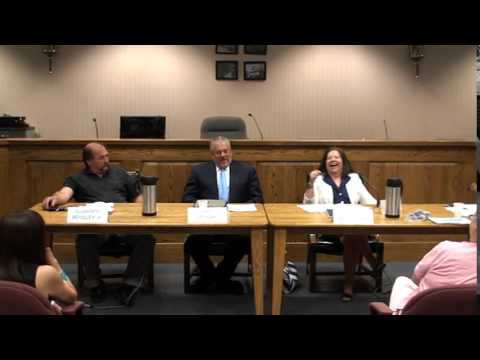 Republican Andover Twp Committee Candidate Debate - Part 1