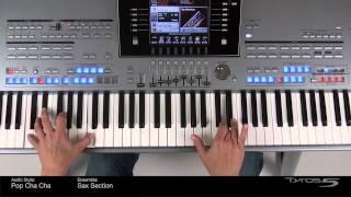 Tyros5: Audio Style - Pop Cha Cha