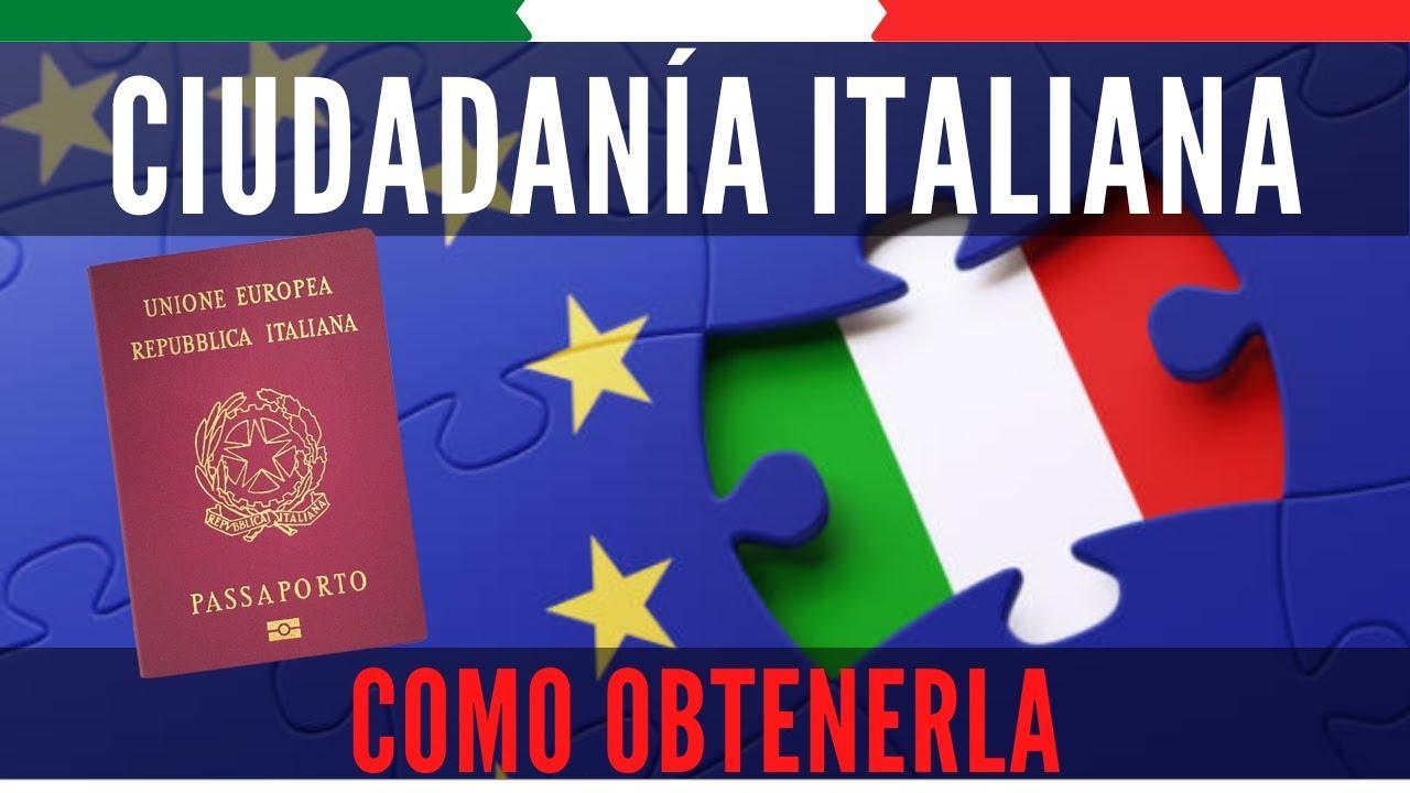 🟢 Como obtener NACIONALIDAD ITALIANA por descendencia