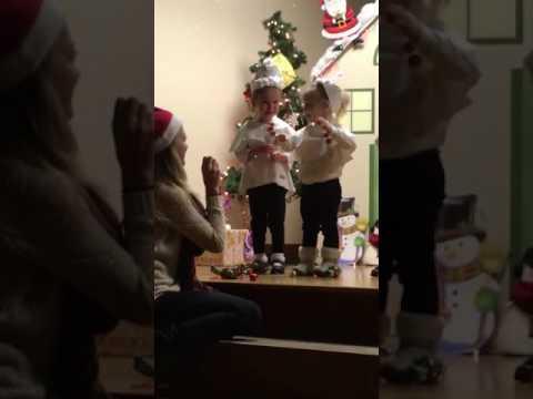 Avalee's first Christmas Program. Foresight Learning Center 2016