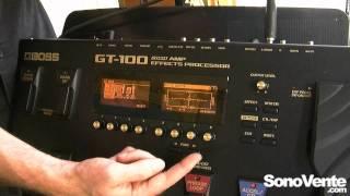 Boss GT-100 - Salon Roland 2012