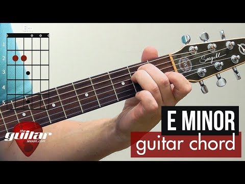 how-to-play-the-e-minor-chord-|-beginner-guitar-lesson