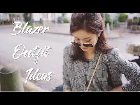 Blazer Outfit Ideas  秋季西装穿搭分享 上班穿搭 Mango PM