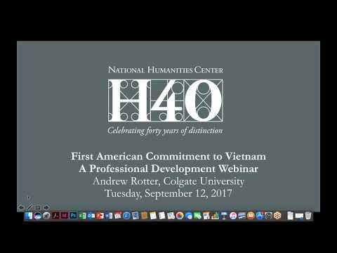 The First American Commitment to Vietnam, 1945–1954