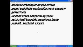 mount blade warband nasıl crack yapılır