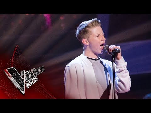 Perry performs Imagine: Semi Final  The Voice Kids UK 2017