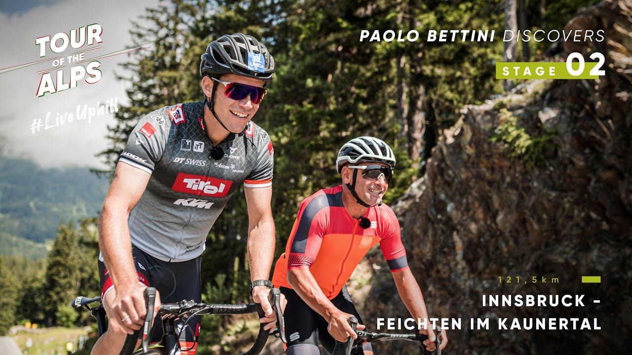 #TouroftheAlps 2021 - Paolo Bettini discovers Stage 2