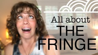 The Fringe: Style & Trim DEMO | real life+curly girl