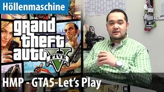 Let's Play GTA 5 auf der Höllenmaschine Portable | deutsch / german