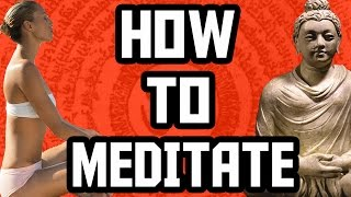 How To Meditate - 3 essential tips | How To Meditate for Beginners