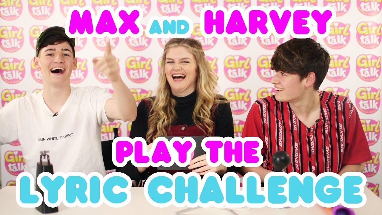 🤩Max and Harvey play the lyrics challenge! 🤣🎶