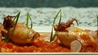 Фаршированные кальмары - Рецепт Бабушки Эммы