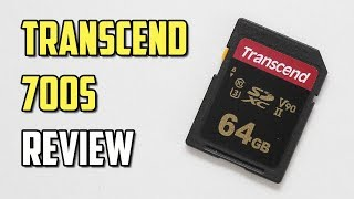 64GB Transcend 700S Review - Budget yet Performing UHS-II U3 & V90 SD Card