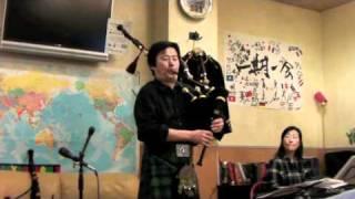 2011.4.16 「スコットランド・キルト・コレクション」出版記念 山根篤バ...