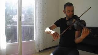 Zidini 3ich9an زيديني عشقا de Kadhem Saher _ Violin Cover par : Mourad Khedija