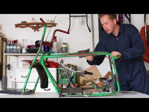 First Stage - Mini Bike Rebuild Project (Baja Dirt Bug)