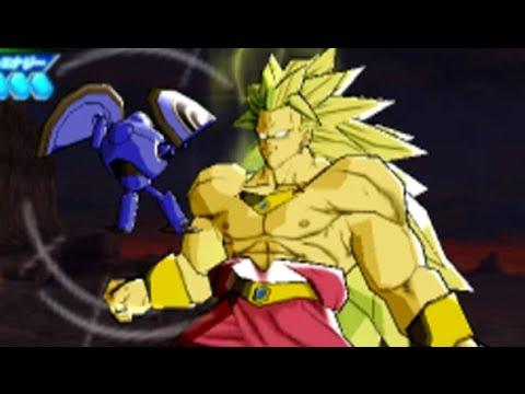 Dragon Ball Heroes: Ultimate Mission 2 - Broly SSJ3 Boss Battle